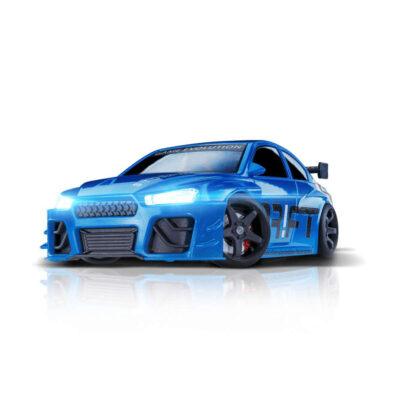 Blue Blizzard | DR!FT Racer von Sturmkind | Gymkhana Edition | Front