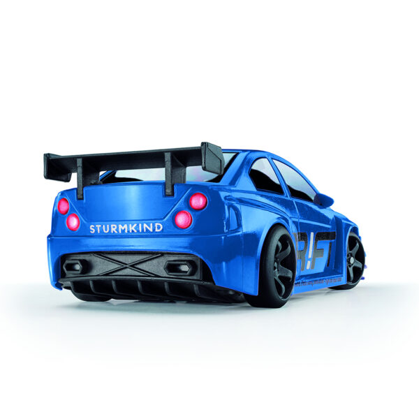 Blue Blizzard | DR!FT Racer von Sturmkind | Gymkhana Edition | Heck