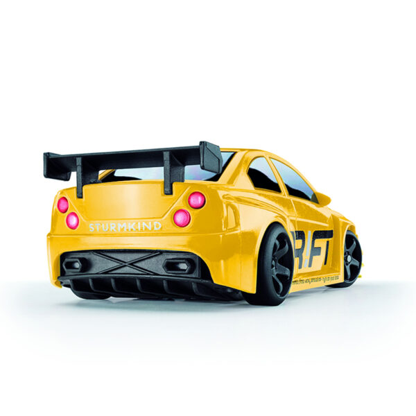 Yellow Beast | DR!FT Racer von Sturmkind | Gymkhana Edition | Heck