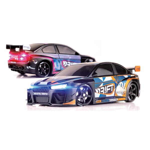 Spielkind Edition | DR!FT Racer von Sturmkind | Gymkhana Edition | Schwarz