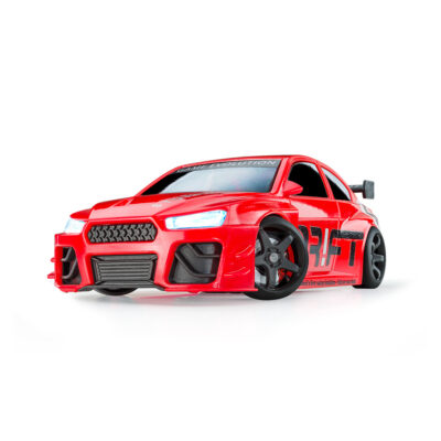 Red Turbo Sport | DR!FT Racer von Sturmkind | Front