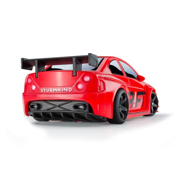 Red Turbo Sport | DR!FT Racer von Sturmkind | Heck