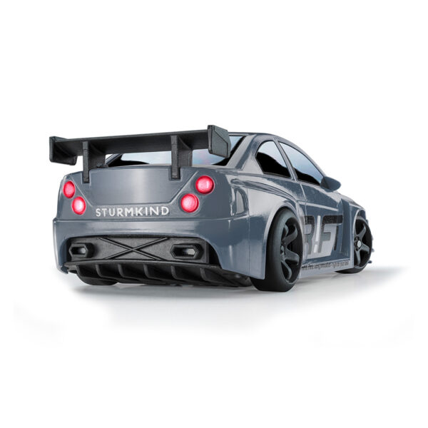 Silver V8 Sport | DR!FT Racer von Sturmkind | Heck