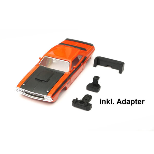 Dodge Challenger T/A Karosserie Orange inkl. Adapter