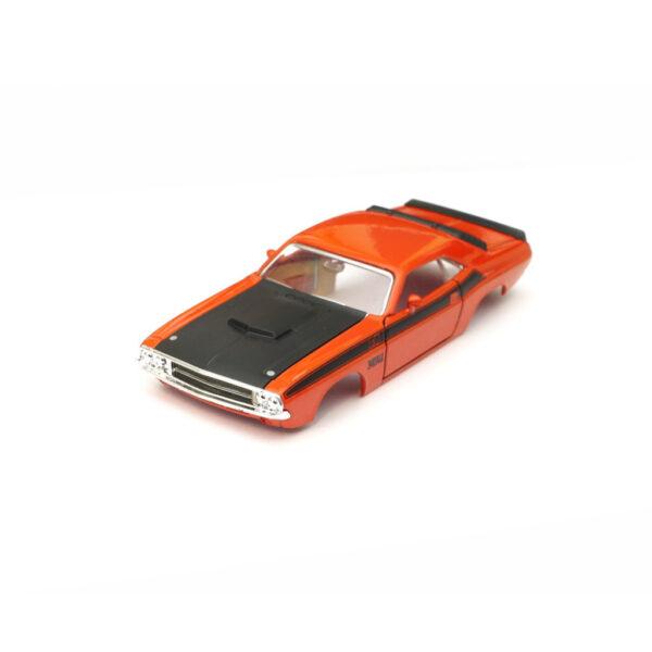 Dodge Challenger T/A Karosserie Orange inkl. Adapter Front