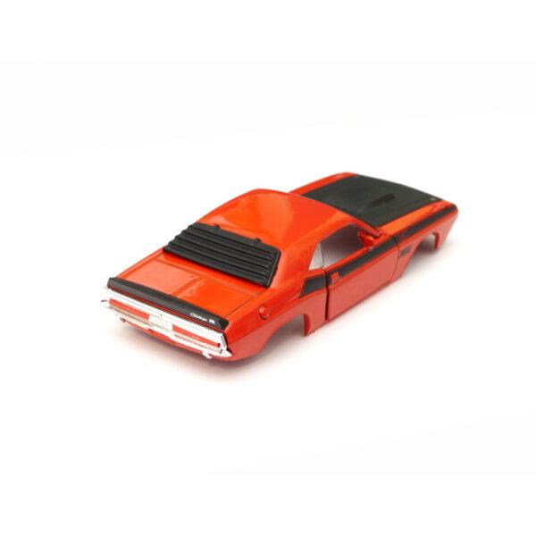 Dodge Challenger T/A Karosserie Orange inkl. Adapter Heck