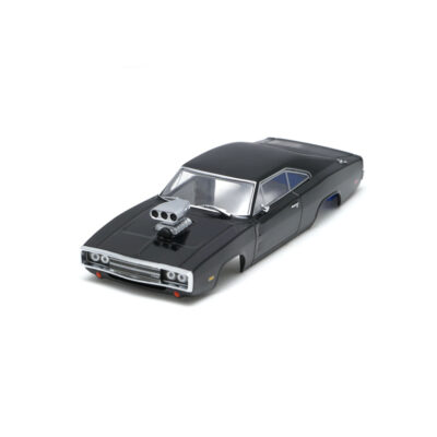 Dodge Charger Karosserie Schwarz inkl. Adapter | Front