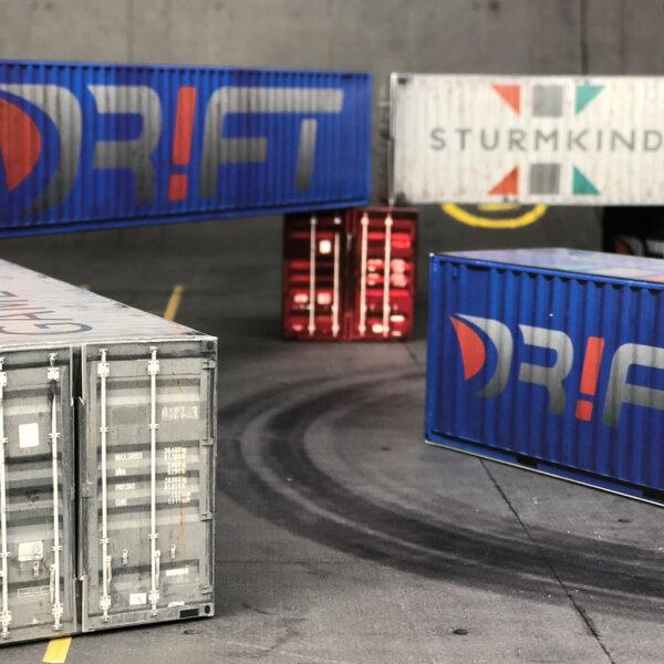 DR!FT Container Set 1:43 von Sturmkind