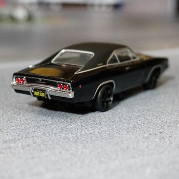 Dodge 68er Charger Bullit Edition Schwarz | DR!FT Racer Umbau von Mika Trendshop | Heck
