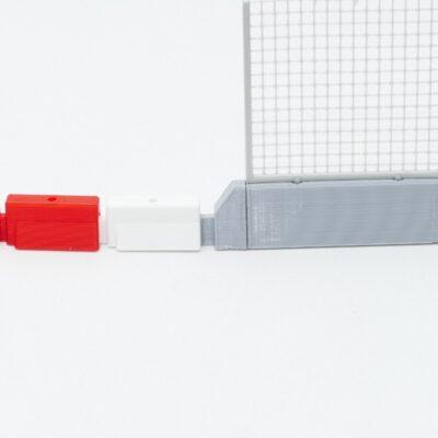 Adapter auf Boxenmauer
