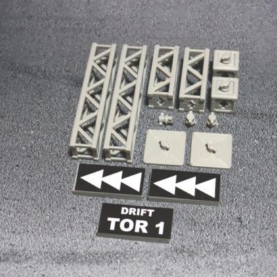 Traversensystem Doppelset