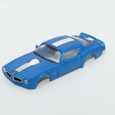 DR!FT Karosserie Trans AM Blau inkl. Adapter | Front | F4 Drift Shop