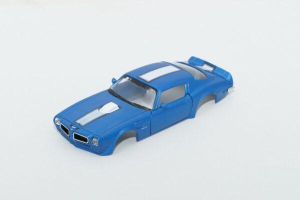 DR!FT Karosserie Trans AM Blau inkl. Adapter | Front | F4 Drift Shop