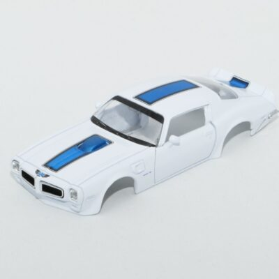 DR!FT Karosserie Trans AM Weiss inkl. Adapter | Front | F4 Drift Shop