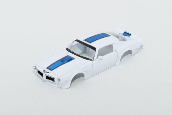 DR!FT Karosserie Trans AM Weiss inkl. Adapter | Front | F4 Drift Shop