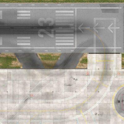Roll-Rennstrecke® Aerodrom 23