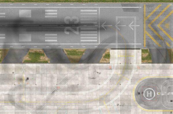 Roll-Rennstrecke® Aerodrom 23 Komplett | Drift Rennstrecken