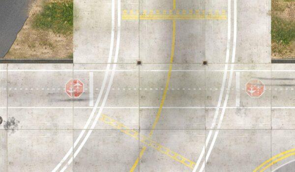 Roll-Rennstrecke® Aerodrom 23 | Drift Rennstrecken