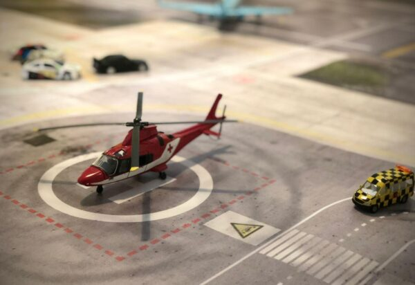 Roll-Rennstrecke® Aerodrom 23 Helikopter | Drift Rennstrecken
