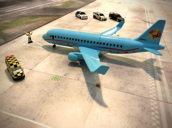 Roll-Rennstrecke® Aerodrom 23 Flugzeug | Drift Rennstrecken
