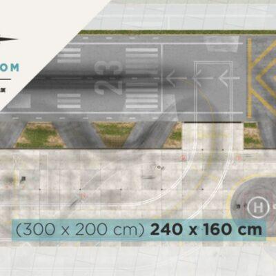 Roll-Rennstrecke® Aerodrom 23 XS | Drift Rennstrecken