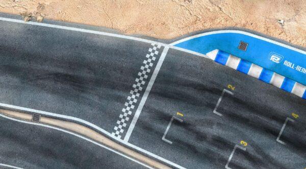 Roll-Rennstrecke® Laguna Loca Start/Ziel | Drift Rennstrecken
