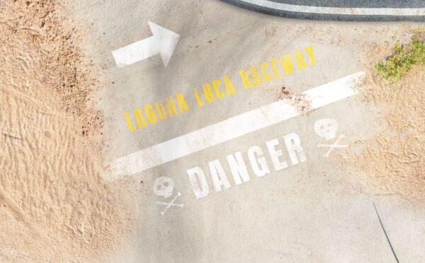 Roll-Rennstrecke® Laguna Loca Sand | Drift Rennstrecken