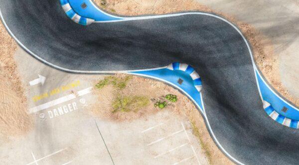 Roll-Rennstrecke® Laguna Loca S-Kurve | Drift Rennstrecken