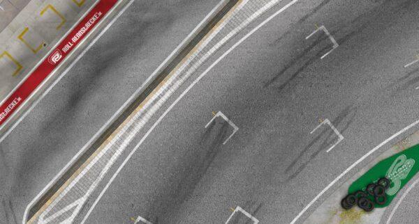 Roll-Rennstrecke® Strandvoort Start/Ziel | Drift Rennstrecken