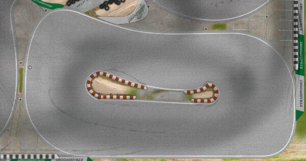 Roll-Rennstrecke® Strandvoort Nebenring | Drift Rennstrecken