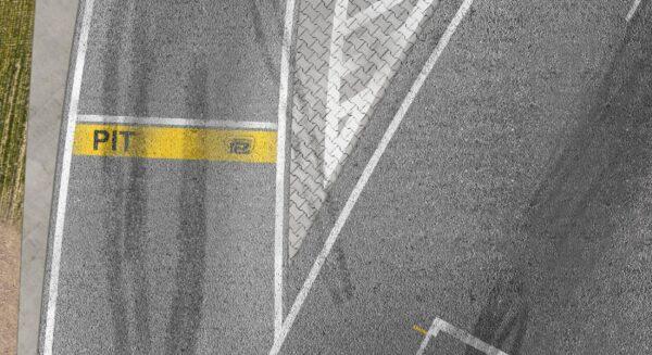 Roll-Rennstrecke® Strandvoort Boxengasse | Drift Rennstrecken