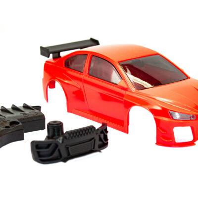 DR!FT D1 Karosserie Rot Komplett | Sturmkind Drift