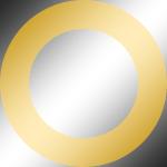 Ring: Gold Chrom / Kern: Chrom