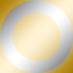 Ring: Chrom / Kern: Gold Chrom