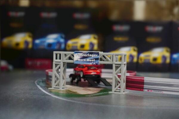 DR!FT Traversen System Erweiterungsset klein | Beispiel mit Auto | F4 Drift Shop Schweiz