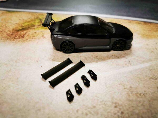 DR!FT Spoiler Set – GT Universal Type-V Style | Heckspoiler Varianten