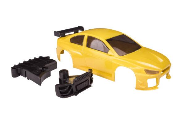 DR!FT D1 Karosserie Curcuma Gelb Komplett | Sturmkind Drift