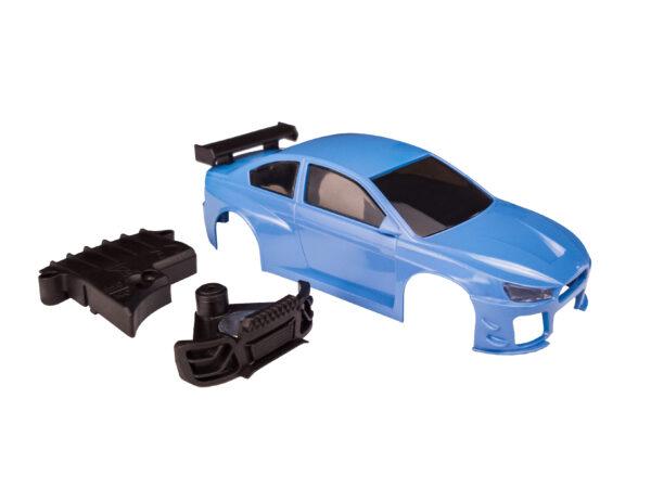 DR!FT D1 Karosserie Cyber Blue Komplett | Sturmkind Drift