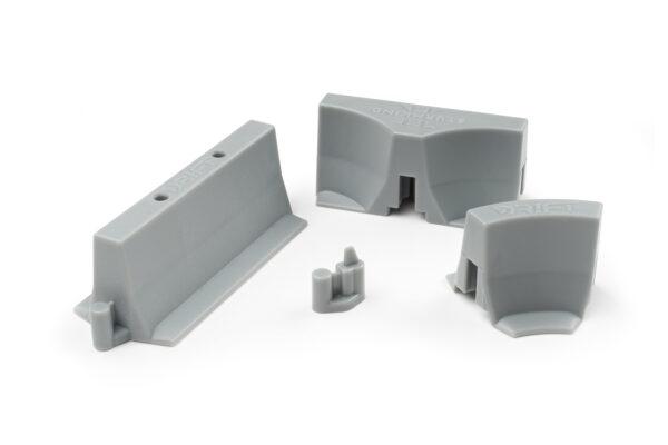 Drift Streckenbegrenzung Set Beton | 64 Teile | Sturmkind DR!FT