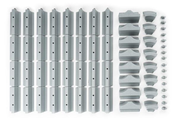 Drift Streckenbegrenzung Set Beton | 64 Teile Lieferumfang | Sturmkind DR!FT