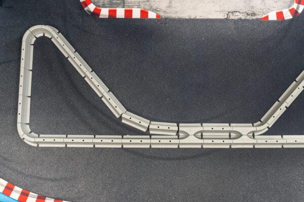 Drift Streckenbegrenzung Set Beton | 64 Teile Aufbau | Sturmkind DR!FT