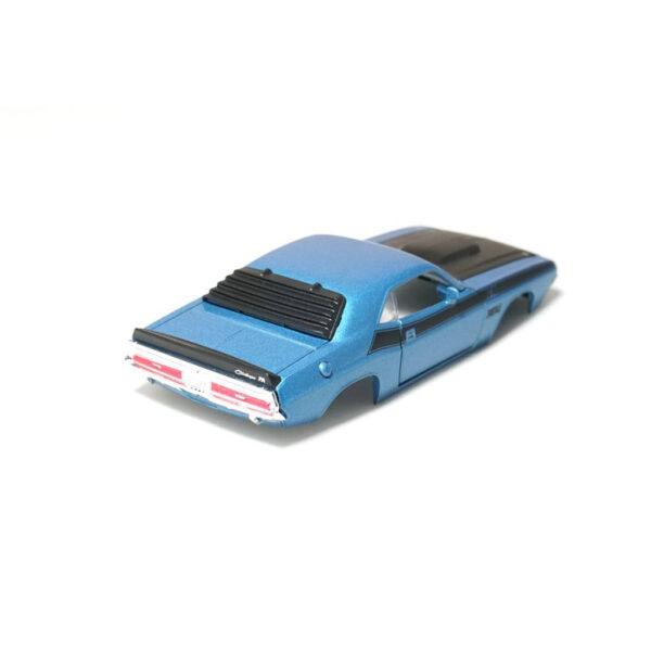 Dodge Challenger T/A Karosserie Blau inkl. Adapter Heck
