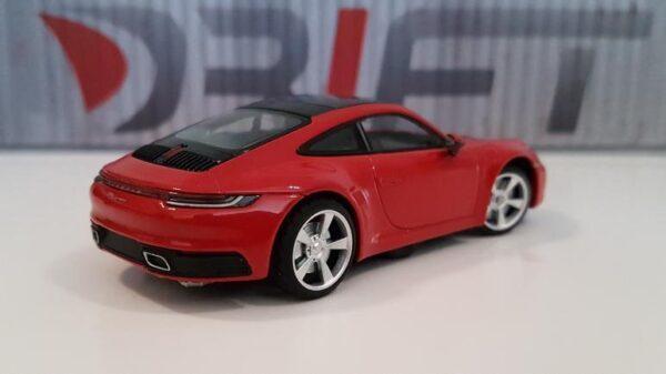 DS Design Felge D32 Hinten Übergrösse Silber / Profilreifen | Auf Porsche hinten