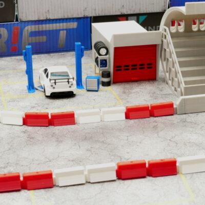 Tribüne Beton Doppelset Links/Rechts
