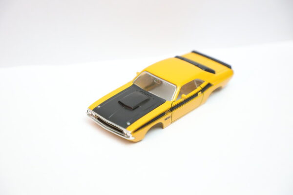 DR!FT Dodge Challenger T/A Karosserie Gelb inkl. Adapter | Front | Drift Karosserie