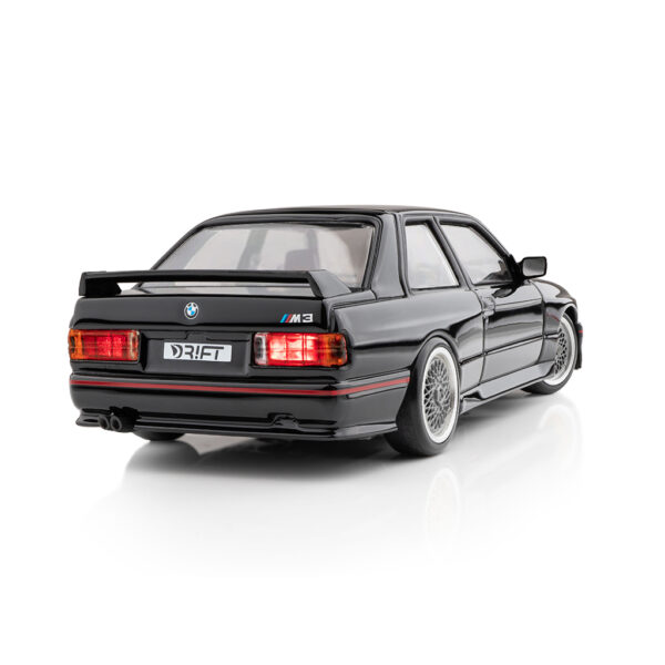 DR!FT Racer BMW E30 M3 Sport Evolution (SE) Schwarz | Heck | F4 Drift Shop