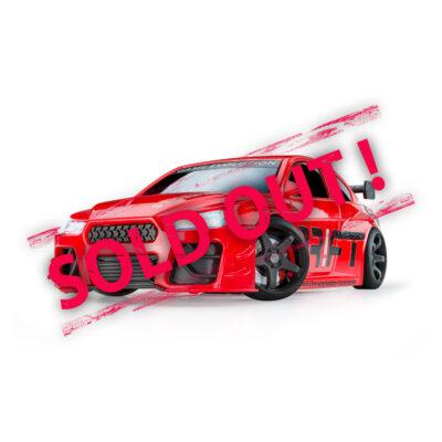 Red Turbo Sport | DR!FT Racer von Sturmkind | Ausverkauft