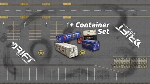 Drift Rennstrecke Hafen-Dock mit DR!FT Container-Set | Sturmkind