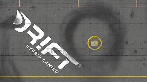 Drift Rennstrecke Hafen-Dock mit DR!FT Container-Set | Logo | Sturmkind