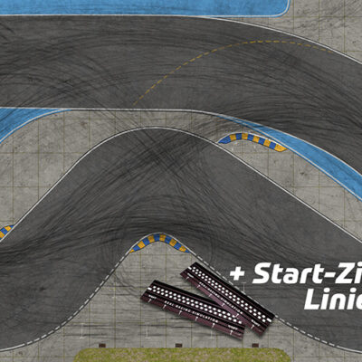 Drift Rennstrecke Racetrack DR!FT Land inkl. Start-Ziel-Linie | Sturmkind